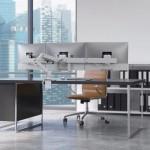HX Desk Triple Monitor Arm