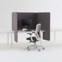 Upholstered 3-Sided Screen