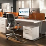 Rectangle Cantilever Desk