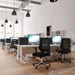 Impulse Rectangle Desk