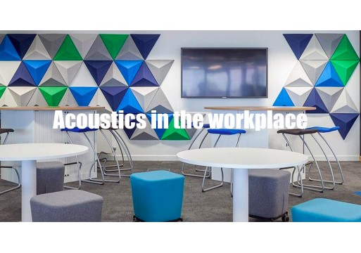 How the trend of workplace acoustics is making noise in the industry.